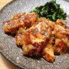 鶏むね肉のオニオンソースソテー