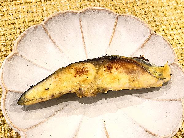 さわらのカレー風味西京焼き