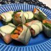 サラダチキンと夏野菜の生春巻き