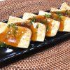 豆腐ステーキ 中華風甘酢あんかけ
